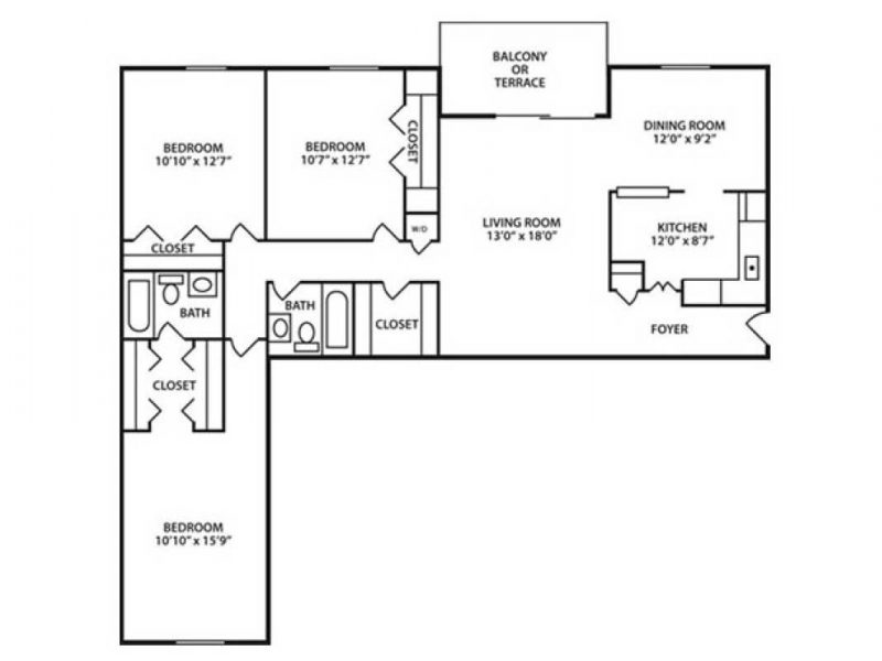 Three Bedroom Apartment in Towson